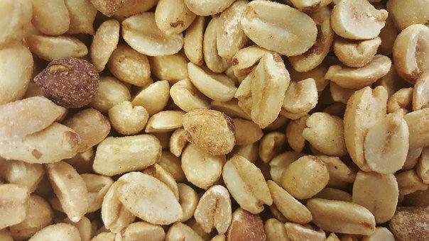 Peanuts, Food, Nutty, Salted Peanuts, Shelled Peanuts