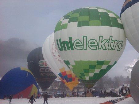 Balloon, Sport, Airship