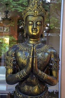 Image, Buddhist, Monk, Thailand, Buddhism, Religion