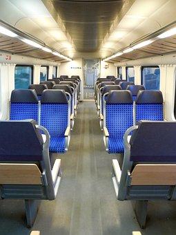 Sit, Seats, Train, Travel, Rows Of Seats, Deutsche Bahn