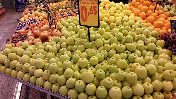 Apples, Supermarket, Greengrocers