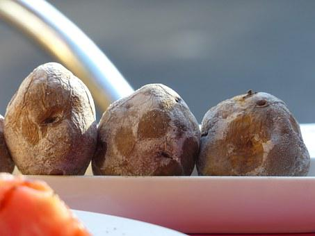 Wrinkly Potatoes, Canarian Wrinkly Potatoes, Potatoes