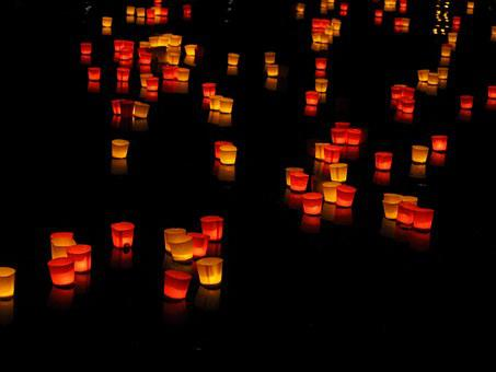 Lights, Candles, Floating Candles, Festival Of Lights
