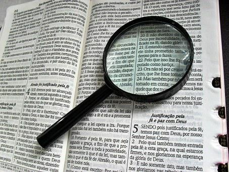 Magnifying Glass, Bible, Bibliology, Theology