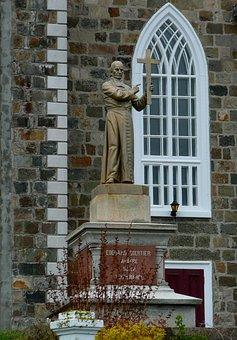 Church, Statue, Religion, Building, Catholic