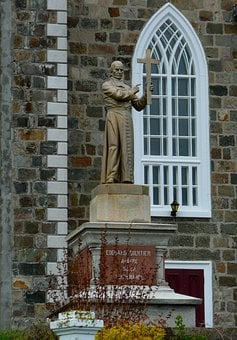 Church, Statue, Religion, Building, Catholic