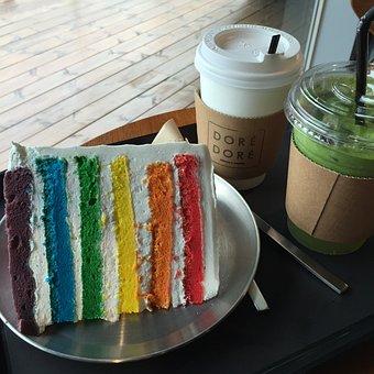 Cake, Rainbow, Desert, Mo Remo, Common Ground, Gun Vs
