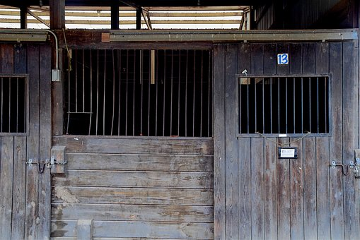Horse Stable, Barn, Farm, Stable, Ranch, Rural, Brown
