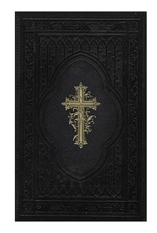 Bible, Book, Front And Back Covers, Lid, The Holy Book