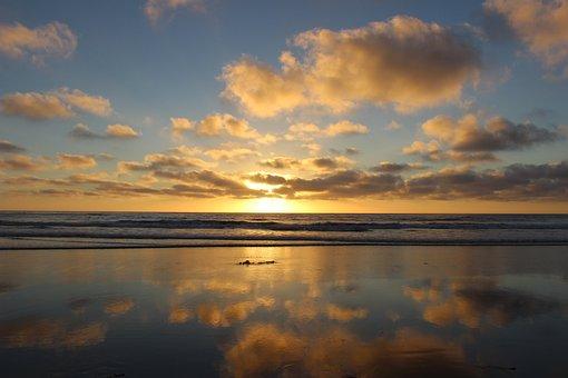 San Diego, Torrey Pines State Park, Beach, California