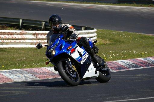 Suzuki, Motorcycle, Gsx-r, Side View