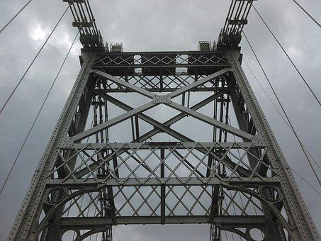 Bridge, Metal, Grey, Architecture, Iron Bridge, Iron