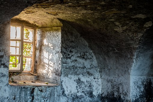 Window, Light, Incidence Of Light, Lost Place, Lost
