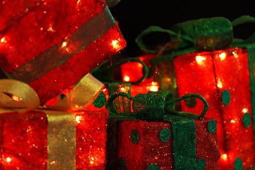 Bow, Box, Celebration, Christmas, Decoration