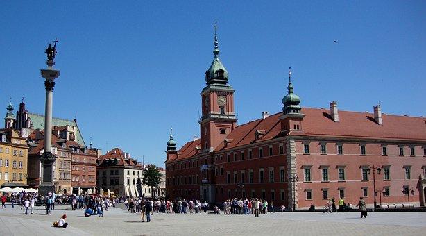 Warsaw, Poland, Castle, Architecture, Monument