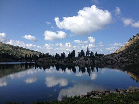 Lake, Mountain Lake, Rocky Mountain, Corona Pass