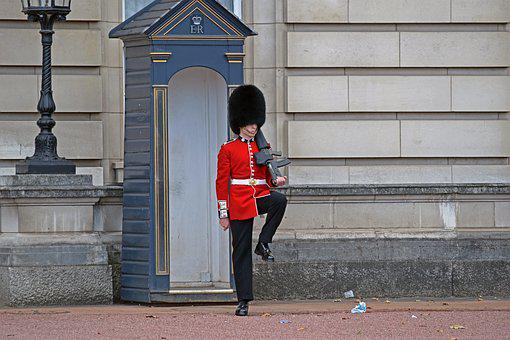 Buckingham Palace Guard, London, England, Royalty