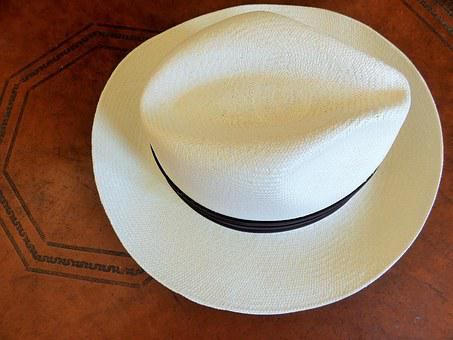 Hat, Panama Hat, Men, Straw, Brim, Traditional