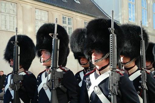 The Royal Life Guards, Denmark, Copenhagen, Soldier