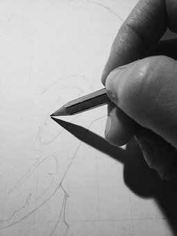 Drawing, Sheet, Pencil, Hand, Whether, Tip, Draw