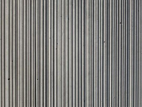 Concrete, Structure, Stripes, Perpendicular, Regularly