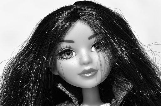 Doll, Pretty, Face, Eyes, Glasses, Beauty, Hair, Girl