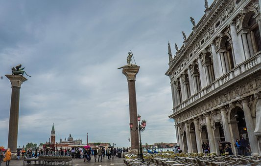 Piazza San Marco, St Mark's Square, Venice, Italy