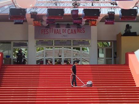 Cleaning, Stairs, Cleanliness, Man, Person, Cannes