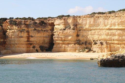 Portugal Coast, Algarve, Coast, Portugal, Nature, Sea