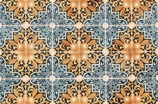 Portugal, Faro, Tiles, Ceramic