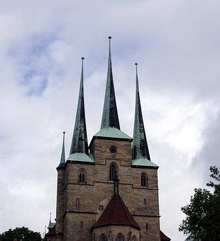 Erfurt, Dom, Church, Religion, Christian