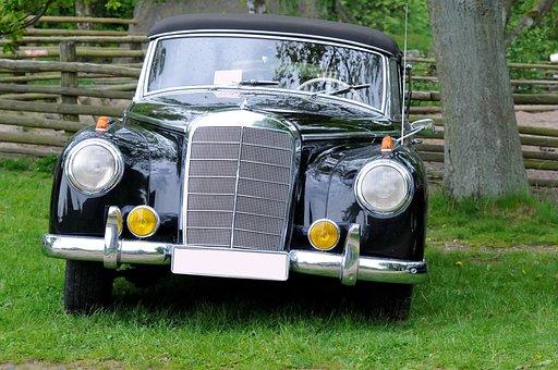 Oldtimer, Auto, Classic, Old, Daimler, Mercedes