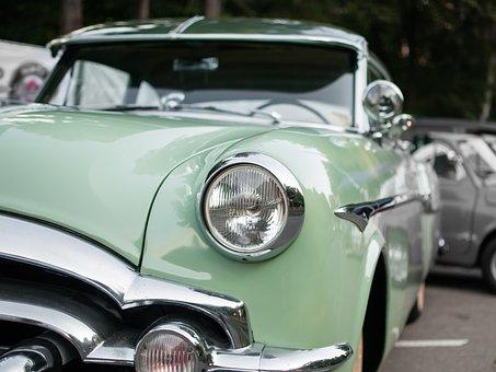 Auto, Oldtimer, Classic, Old, Automotive, Spotlight