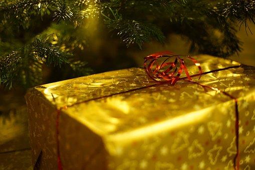 Christmas, Gift, Decoration, Santa Claus, Celebrate