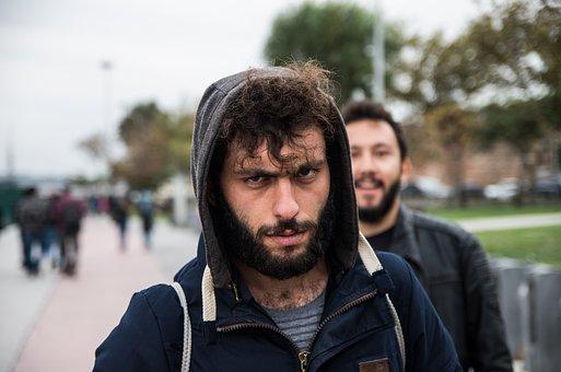 Portrait, Man, The Hood, Sae Honestly Hoped For, Street