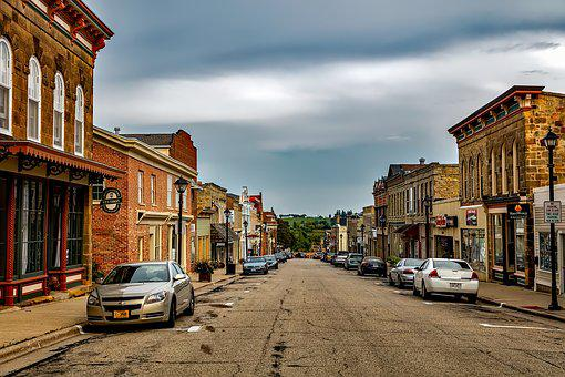 Mineral Point, Wisconsin, Small Town, City, Urban