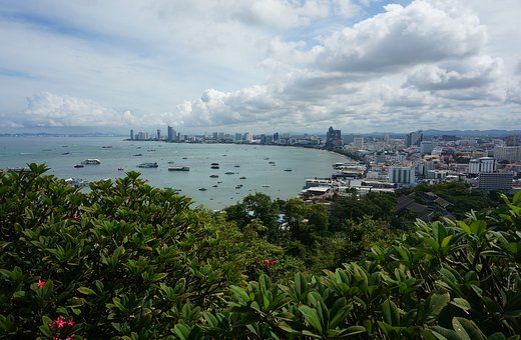 Pratumnak, Viewpoint, Pattaya, Thailand, Asia