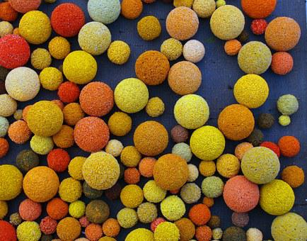 Balls, Foam, Color, Colorful, About, Abstract