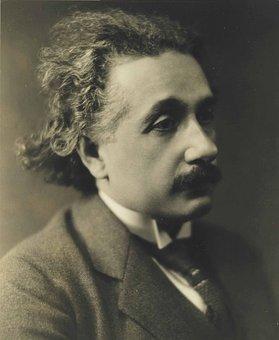 Albert Einstein, 1921, Sad Look, Portrait