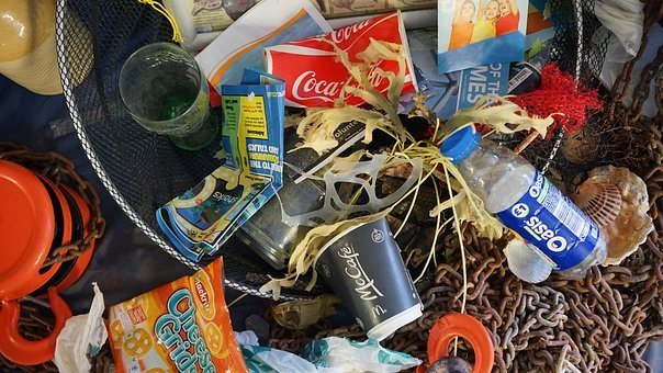 Rubbish, Seaside, Beach, Waste, Garbage, Trash