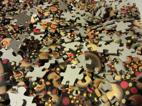 Puzzle, Share, Colorful, Pieces Of The Puzzle, Mess
