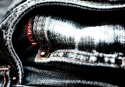 Jeans, Pants, Denim, Logo, Clothing, Garment, Fabric