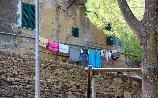 Laundry, Dry, Clothes Line, Garments, Clothing, Hang