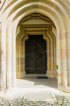 Church, Goal, Door, Input, Portal, Historically, Wood