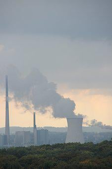 Power Plant, Current, Manufacturing, Pollution, Smoke