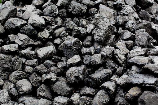 Pile, Carbon, Fuel, Briquettes, Fire, Barbecue, Train