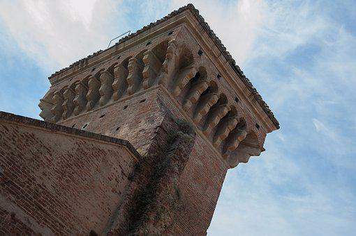 Portal Of Saint Donated, Bologna, Emilia Romagna, Italy