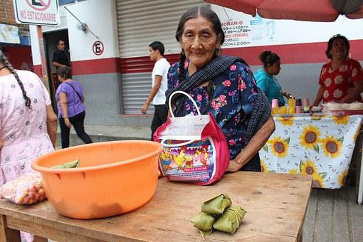 Women, Chatina, Oaxaca, Poverty, Traditional Clothes