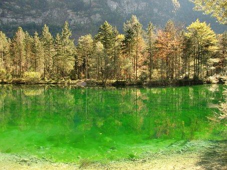 Bluntautaler Lake, Bluntautal, Salzburg Country