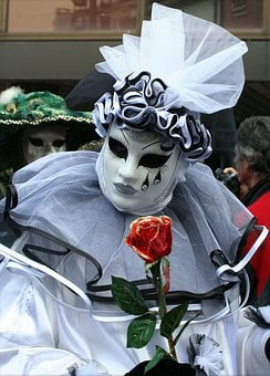 Mask, Face, Clothing, Cover, Carnival, Palace, Spring